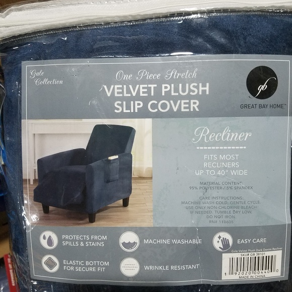 Surprising Recliner Chair Slip Cover Gmtry Best Dining Table And Chair Ideas Images Gmtryco